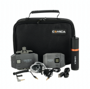 COMICA CVM-WS50B WIRELESS LAVALIER MICROPHONE KIT PARA SMARTPHONES